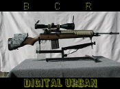 Digital Urban M1A Cheek Rest